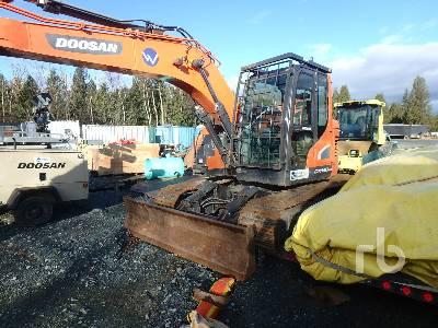2017 DOOSAN DX140LCR-5 Hydraulic Excavator