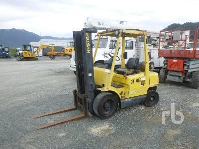 HYSTER H50XM 4850 Lb Forklift