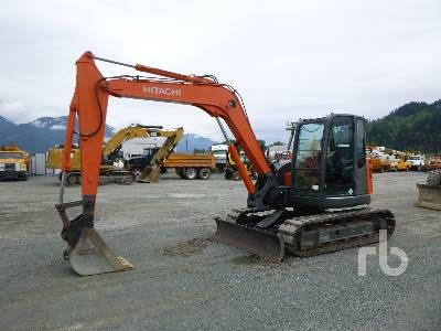 2010 HITACHI ZX85USB-3 Midi Excavator (5 - 9.9 Tons)