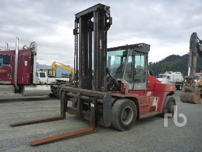 2007 KALMAR DCE140-6 30000 Lb Forklift