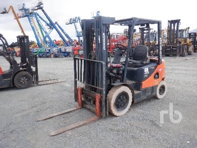 2013 DOOSAN G25P-5 4600 Lb Forklift
