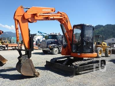 1996 HITACHI EX75UR Midi Excavator (5 - 9.9 Tons)