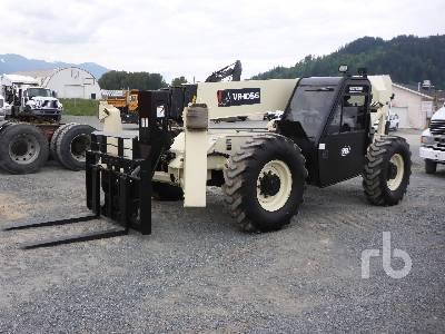 2001 INGERSOLL-RAND VR-1056 10000 Lb 4x4x4 Telescopic Forklift