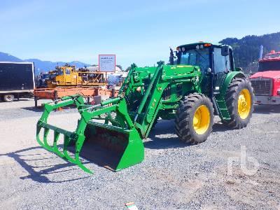 2008 JOHN DEERE 7130 MFWD Tractor