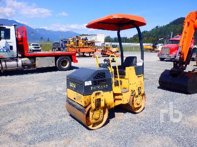 2007 BOMAG BW90AD-2 Double Drum Roller