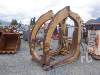 WBM 56 In. Hydraulic Log Wheel Loader Grapple