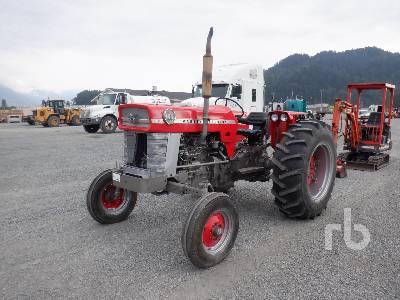 1966 MASSEY FERGUSON 165 2WD Antique Tractor