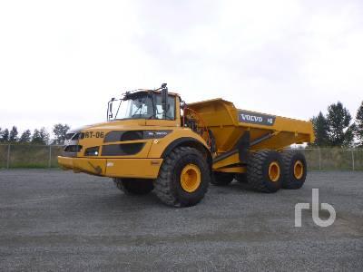 2016 VOLVO A40G FS Articulated Dump Truck