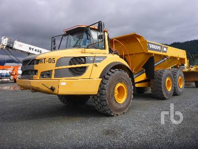 2014 VOLVO A40G FS Articulated Dump Truck