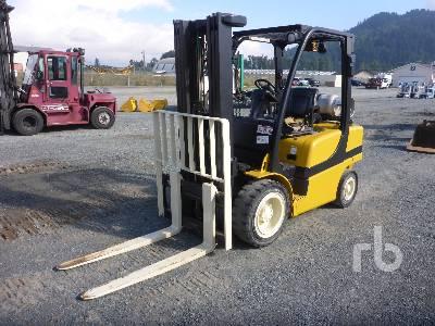 2012 HYSTER H60FT 5700 Lb Forklift