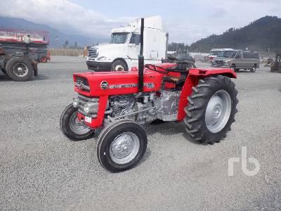 MASSEY FERGUSON 135 2WD Antique Tractor