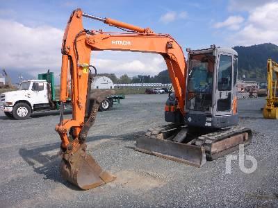 2007 HITACHI ZX55 Midi Excavator (5 - 9.9 Tons)