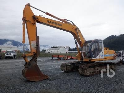 1992 SAMSUNG SE210LC Hydraulic Excavator