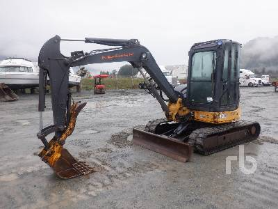 2006 JOHN DEERE 50D Midi Excavator (5 - 9.9 Tons)