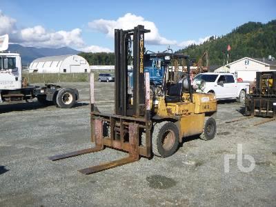 1986 HYSTER H110XL 11200 Lb Forklift