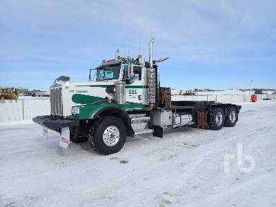 1998 KENWORTH C500B Texas Bed T/A Winch Tractor