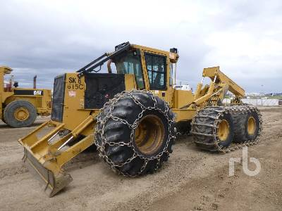 2013 TIGER CAT 615C 6x6 Grapple Skidder
