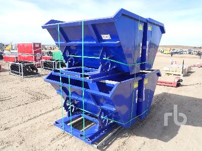 Unused SUIHE Qty Of 4 Self-Dumping Hopper Bins Container Equipment - Other