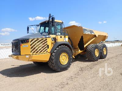 2013 JOHN DEERE 410E 6x6 Articulated Dump Truck