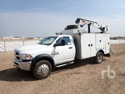 2015 RAM 5500 4x4 Service Truck