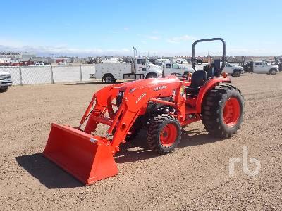 KUBOTA L4701D MFWD Tractor