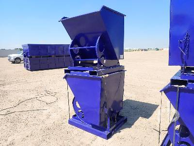 Unused Qty Of 2 Self-Dumping Hopper Bins Container Equipment - Other