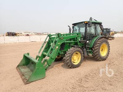 2012 JOHN DEERE 5100M MFWD Tractor
