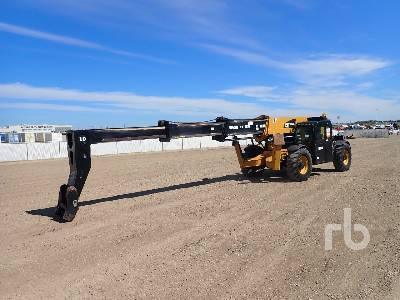 2013 CAT TL1055C 10000 Lb 4x4x4 Telescopic Forklift