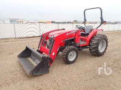 2013 MASSEY FERGUSON 1652 MFWD Utility Tractor