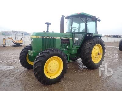 1978 JOHN DEERE 4040 MFWD Tractor