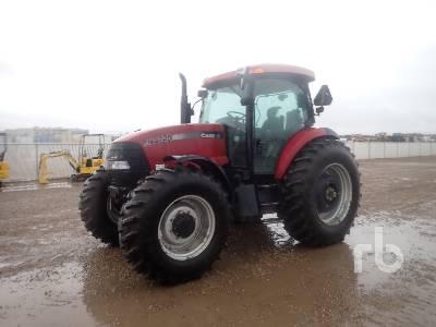 2005 CASE IH MXU125 MFWD Tractor