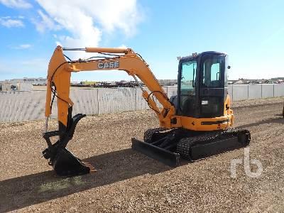 CASE CX55B Mini Excavator (1 - 4.9 Tons)