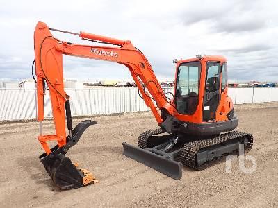 KUBOTA KX161-3SZ Mini Excavator (1 - 4.9 Tons)