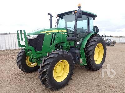 2018 JOHN DEERE 6105E MFWD Tractor