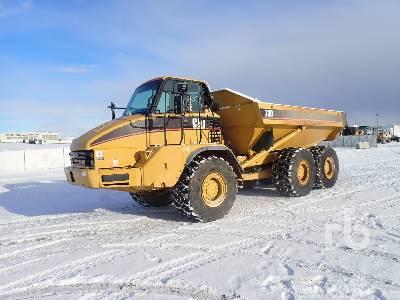2004 CAT 730 Articulated Dump Truck