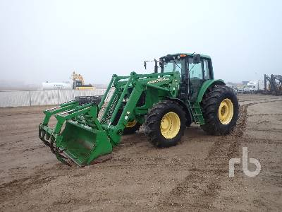 2003 JOHN DEERE 7520 MFWD Tractor