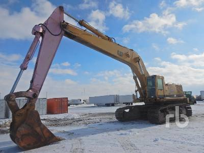 1992 CAT 245B SERIES II Deep Trencher Hydraulic Excavator