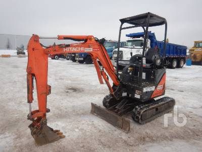 2012 HITACHI ZX17U-2 Mini Excavator (1 - 4.9 Tons)