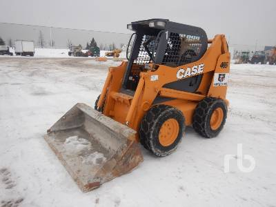 2010 CASE 465 Skid Steer Loader