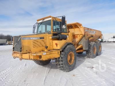 1998 VOLVO A25C 6x6 Articulated Dump Truck