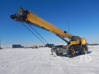 2007 GROVE RT875E-3 75 Ton Rough Terrain Crane