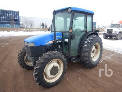 1999 NEW HOLLAND TN65D MFWD Utility Tractor