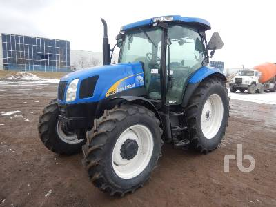 NEW HOLLAND T6020 MFWD Tractor