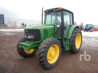 2003 JOHN DEERE 6320 MFWD Tractor