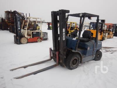 1998 HYSTER H50XM 5300 Lb Forklift