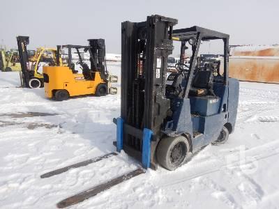 2001 CATERPILLAR GC45KSWB 10000 Lb Forklift