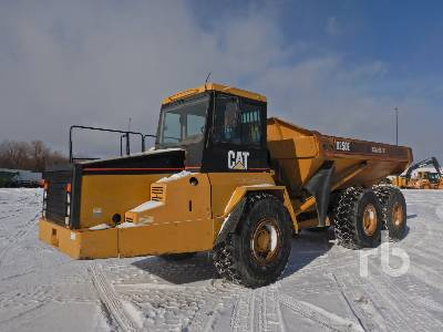 2000 CATERPILLAR D250E Series II 6x6 Articulated Dump Truck
