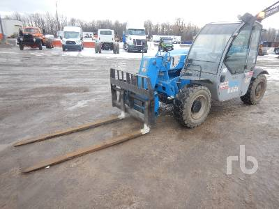 2014 GENIE GTH-5519 5500 Lb 4x4x4 Telescopic Forklift