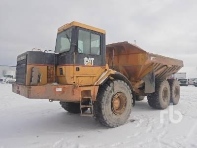 1998 CATERPILLAR D400E 6x6 Articulated Dump Truck
