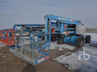 2008 GENIE Z60/34 4x4 Articulated Boom Lift